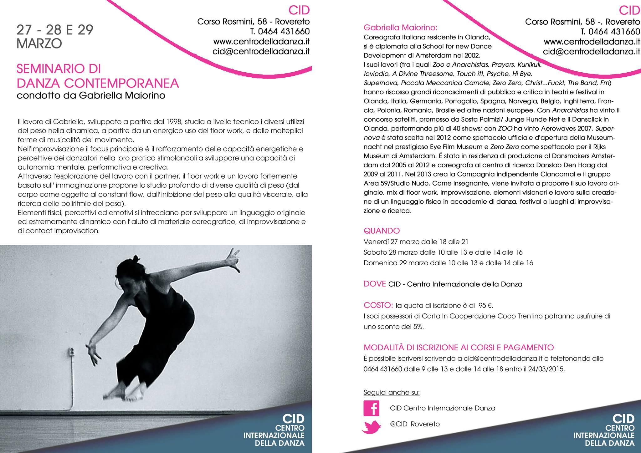 workshop rovereto2015